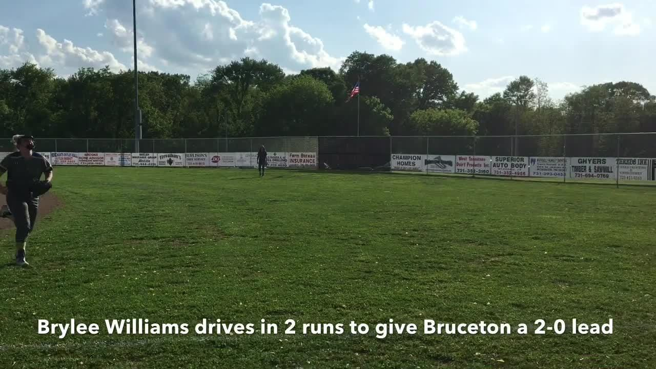 Highlights from Huntingdon's 7-4 win over Bruceton the District 11-A tournament on May 7, 2018.