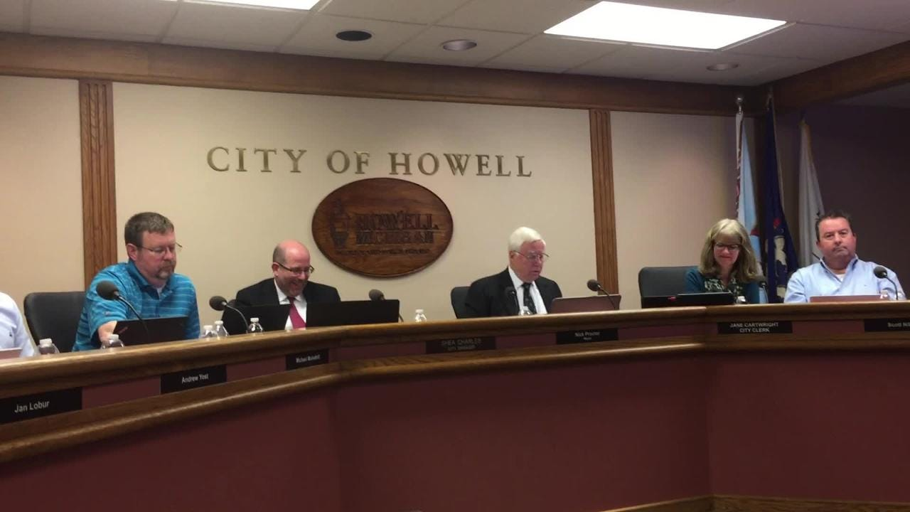 Howell City Council votes 4-3 against 3 mill public safety special assessment at its May 7 meeting.