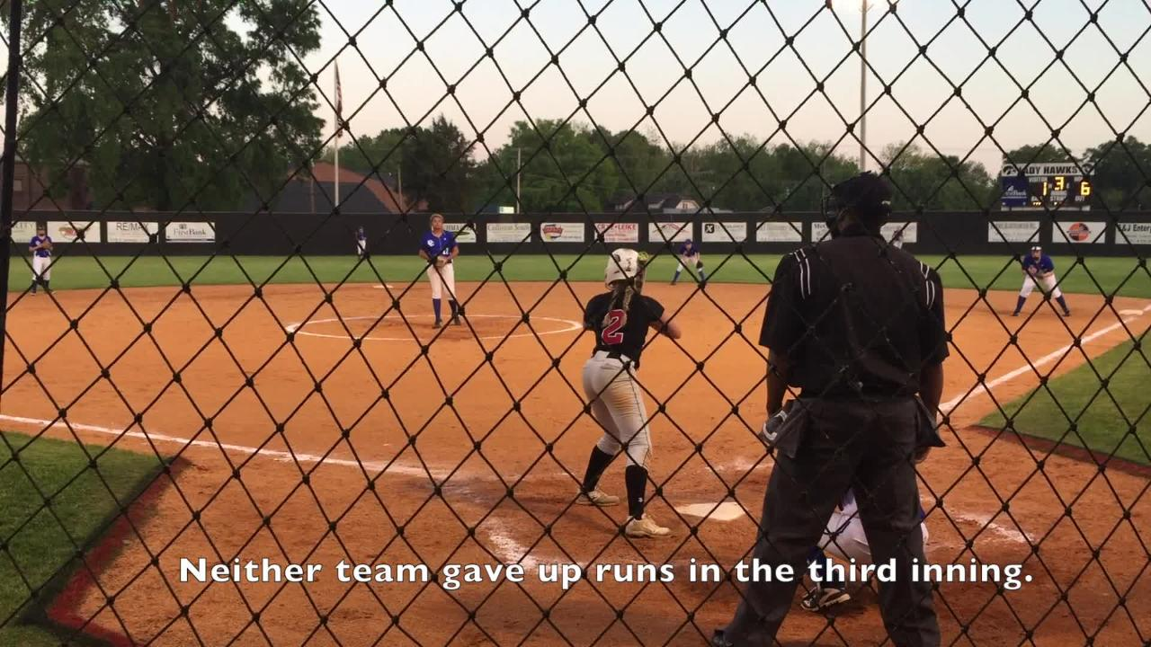 Highlights from South Side's 9-1 win over Chester County in the District 14-AA Tournament on May 7, 2018.