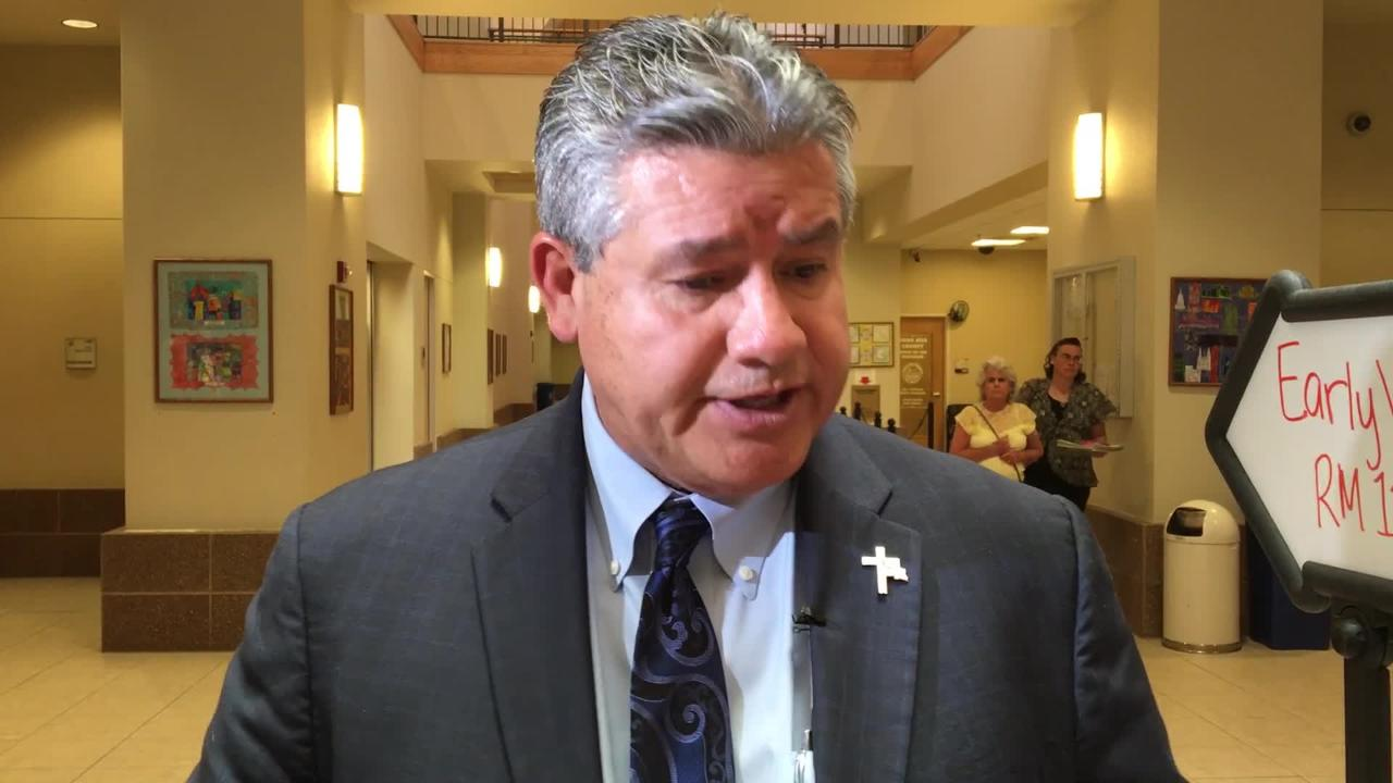 "Sheriff Enrique ""Kiki"" Vigil responds to County Commission Vote on Operation Stonegarden."