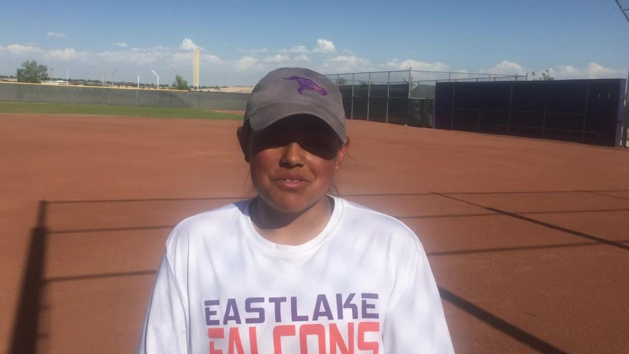 Eastlake softball player Kasey Flores talks about her career and season.
