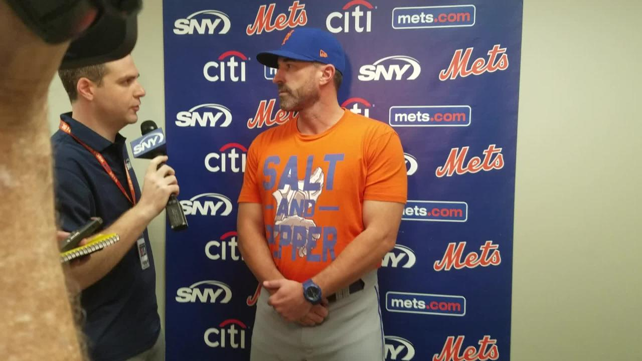 NY Mets manager Mickey Callaway on Hansel Robles, Devin Mesoraco