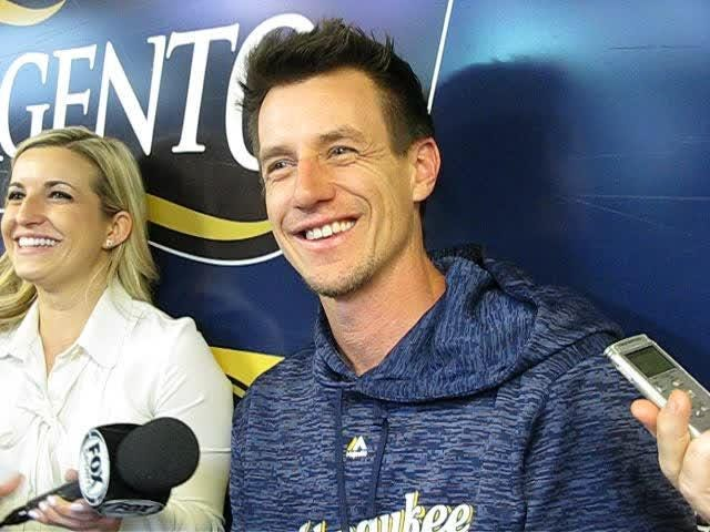 Brewers manager Craig Counsell discusses the injuries to pitcher Wade Miley and utility player Nick Franklin and the addition of infielder Tyler Saladino.