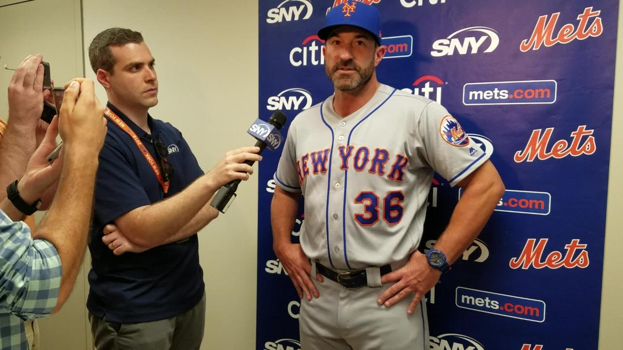 NY Mets manager Mickey Callaway on his team batting out of order