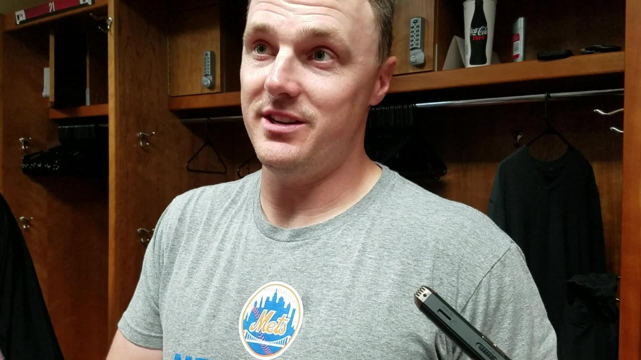 NY Mets outfielder Jay Bruce on the Mets batting out of order