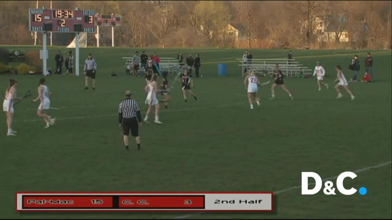 Lax record-breaker wins Play of the Week