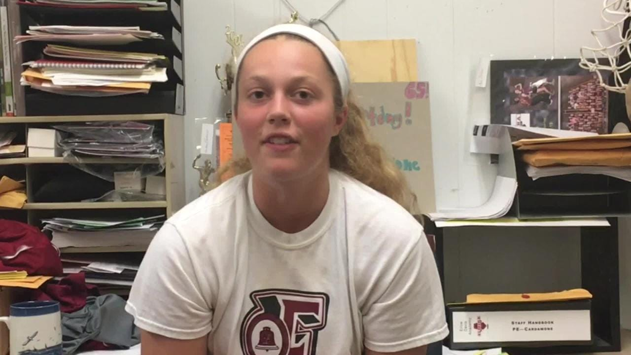 Elmira High School junior Bella Reese talks about trying to help others deal with their epilepsy.