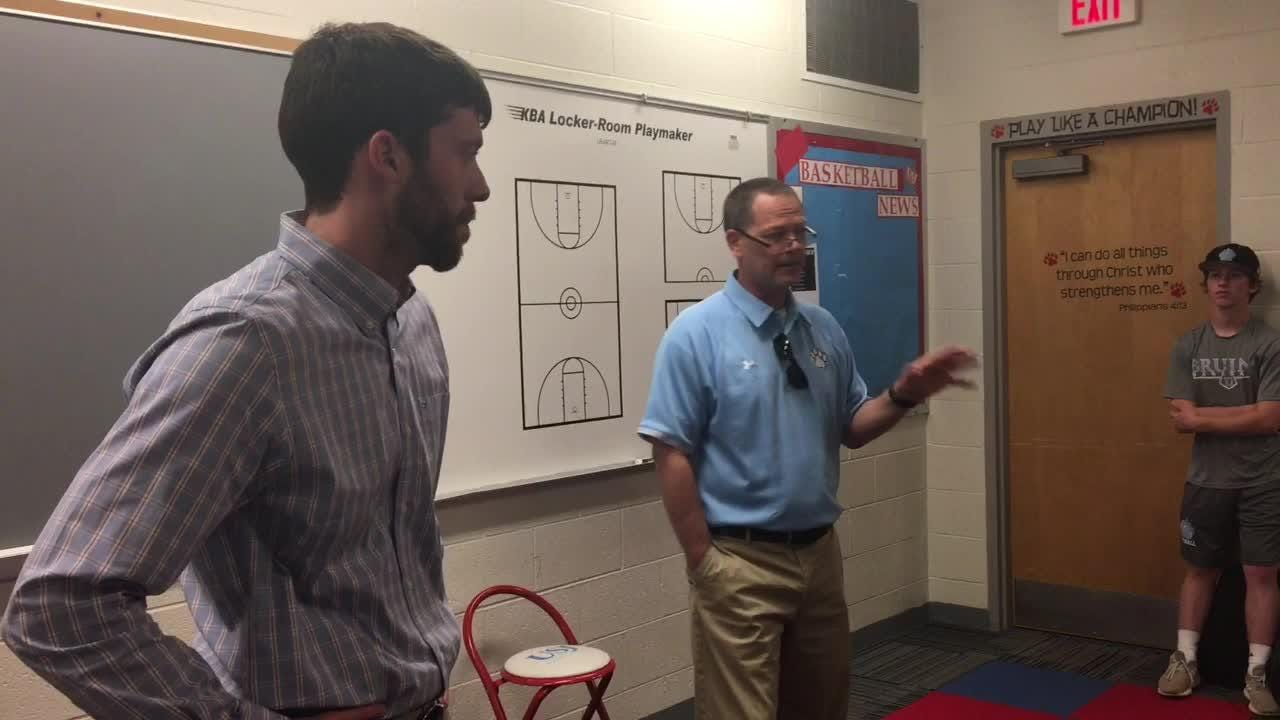 New USJ boys basketball coach Hamilton Hudson explains why he decided to take the Bruins' boys basketball job.