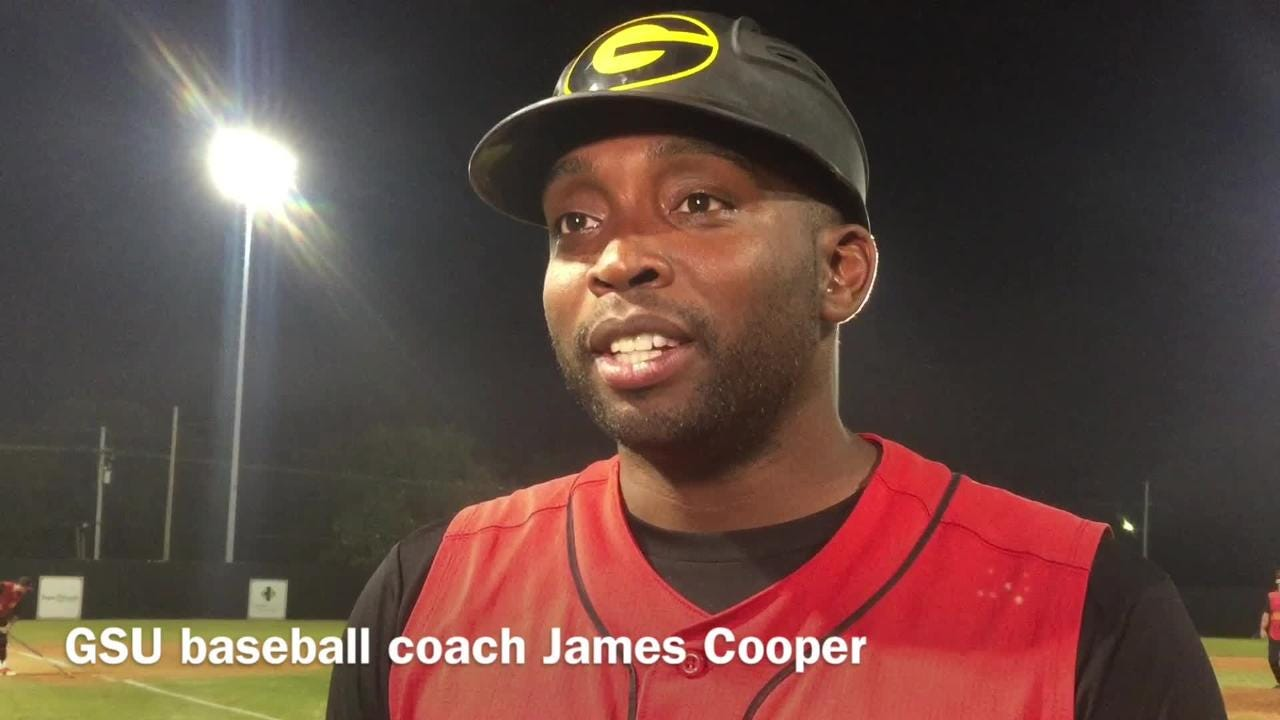 Grambling State baseball coach James Cooper lists off what went wrong against Louisiana Tech.