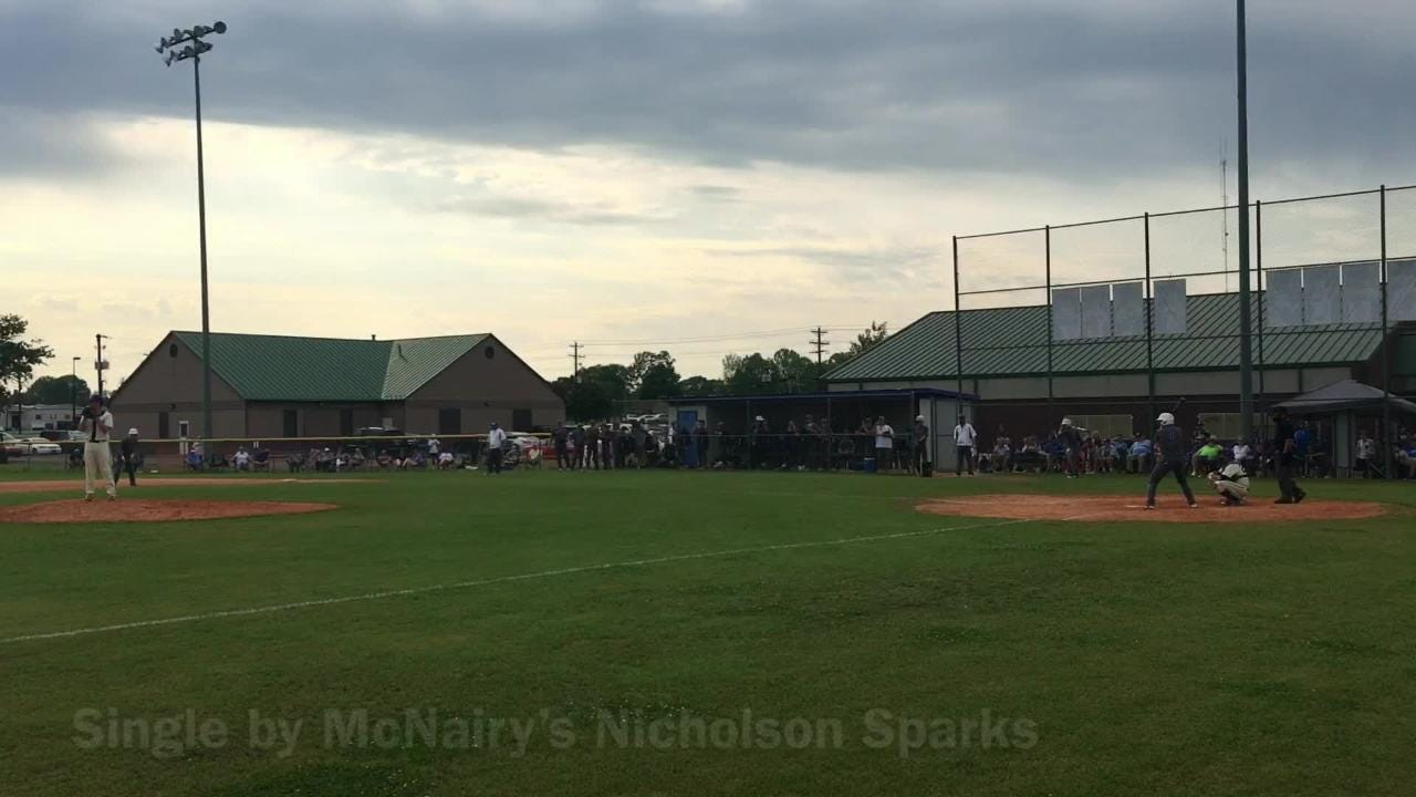 McNairy Central beat Riverside twice on Wednesday to win the District 14-AA crown 5-3 and 9-8.