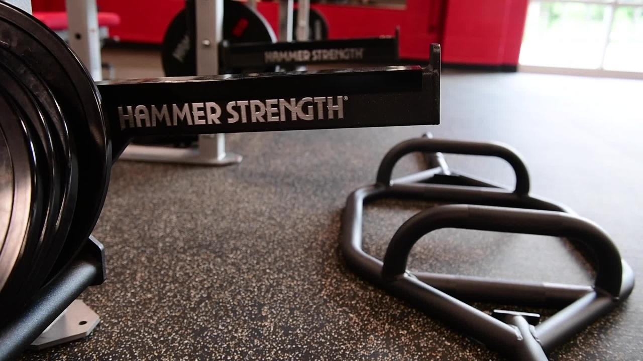 More classes, a functional training area and a women's only section are all new features.