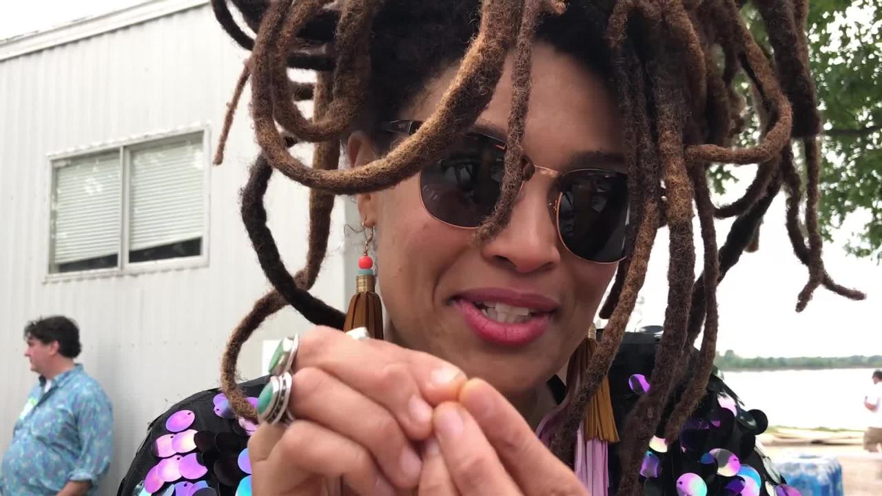 After taking over the River Stage at the 2018 Beale Street Music Festival, Memphis artist Valerie June discusses why the city is important to her.