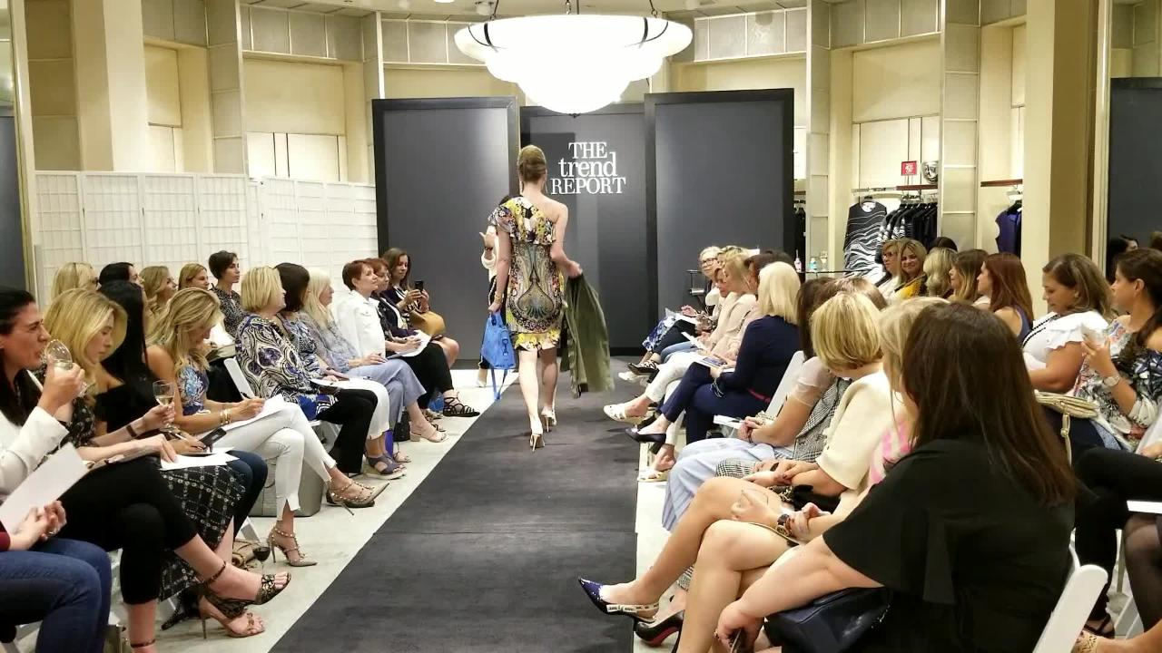 Neiman Marcus held a fashion show benefiting St. Jude.