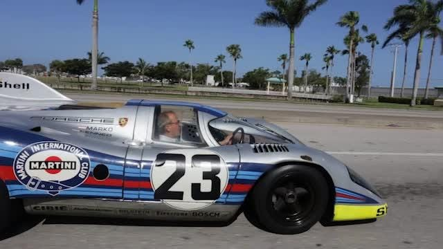 A rare 1971 Porsche 917K was heading to The Revs Institute from Porsche of Naples on May 3, 2018. (Video courtesy of David Santiago, an employee with The Revs Institute)