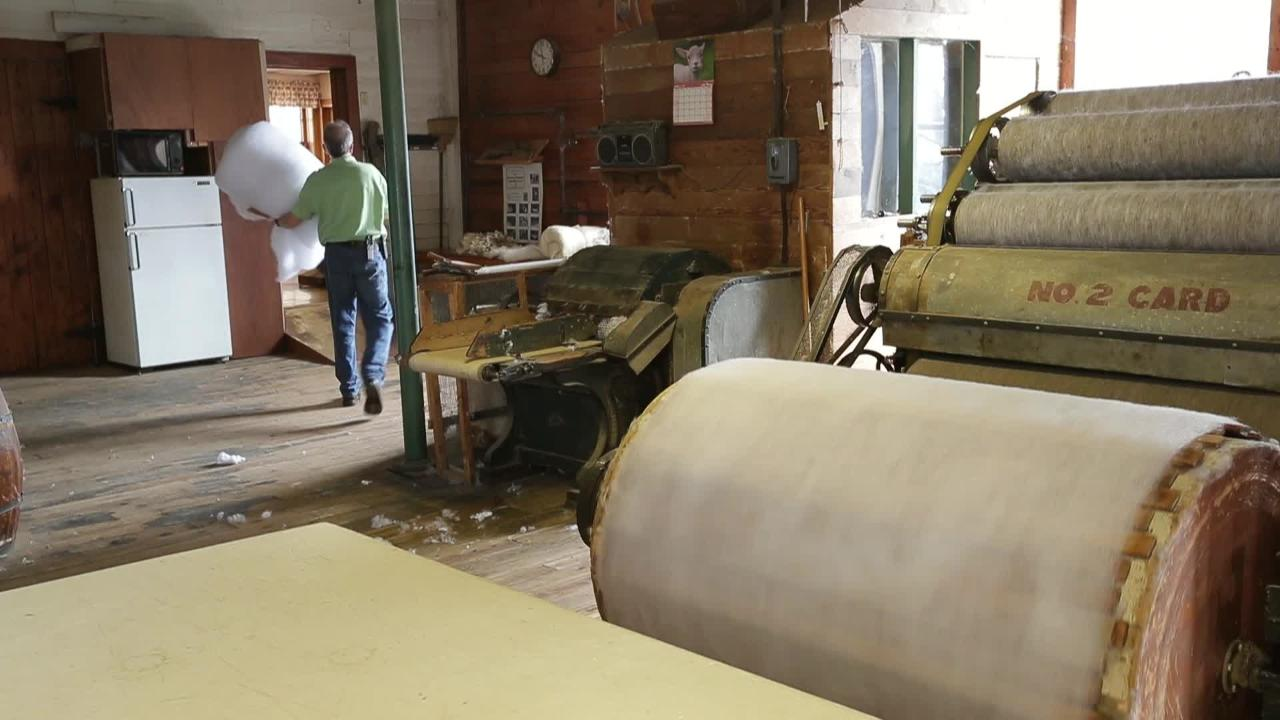 Courtney Woolen Mill in Appleton operates much as it did when it first opened in the late 1800s.