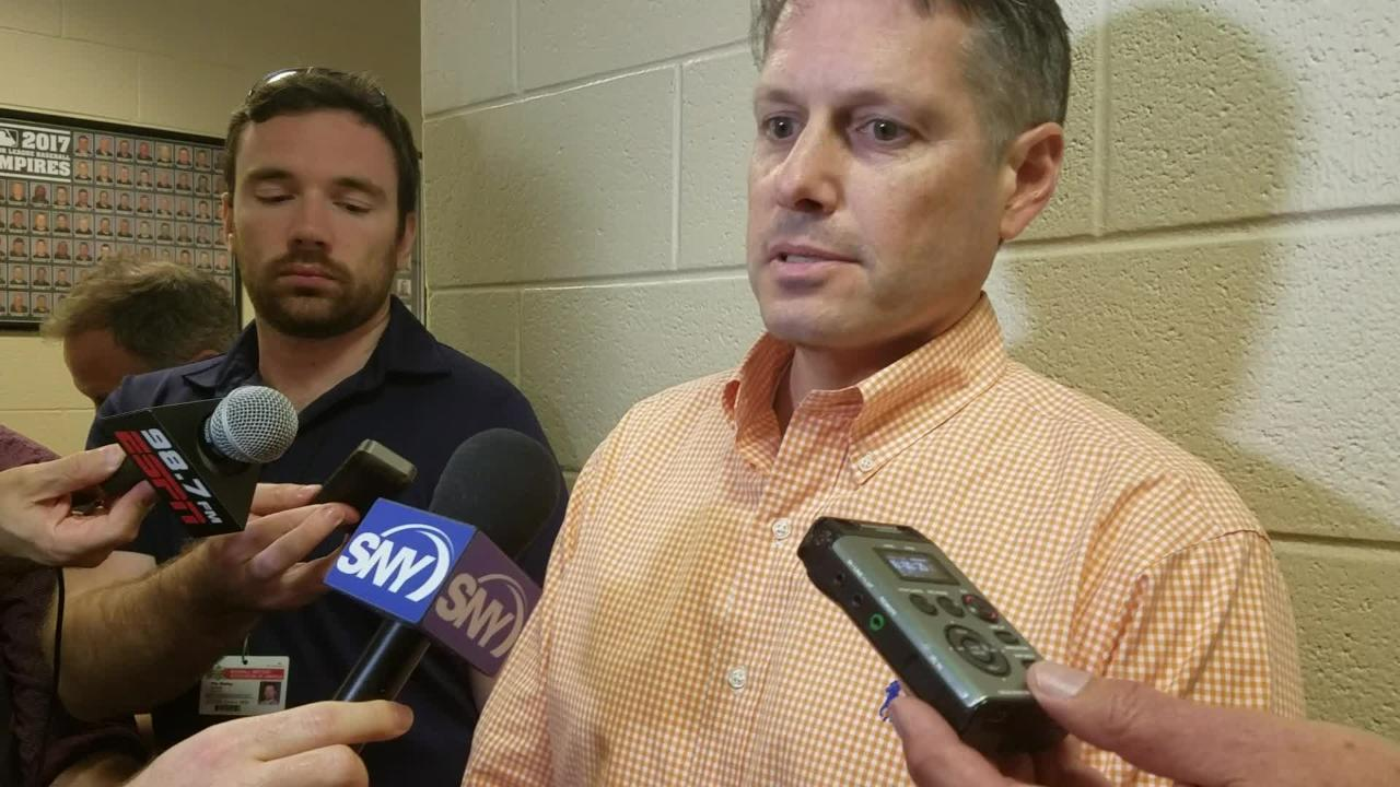 NY Mets Asst. GM John Ricco discusses the lineup mistake
