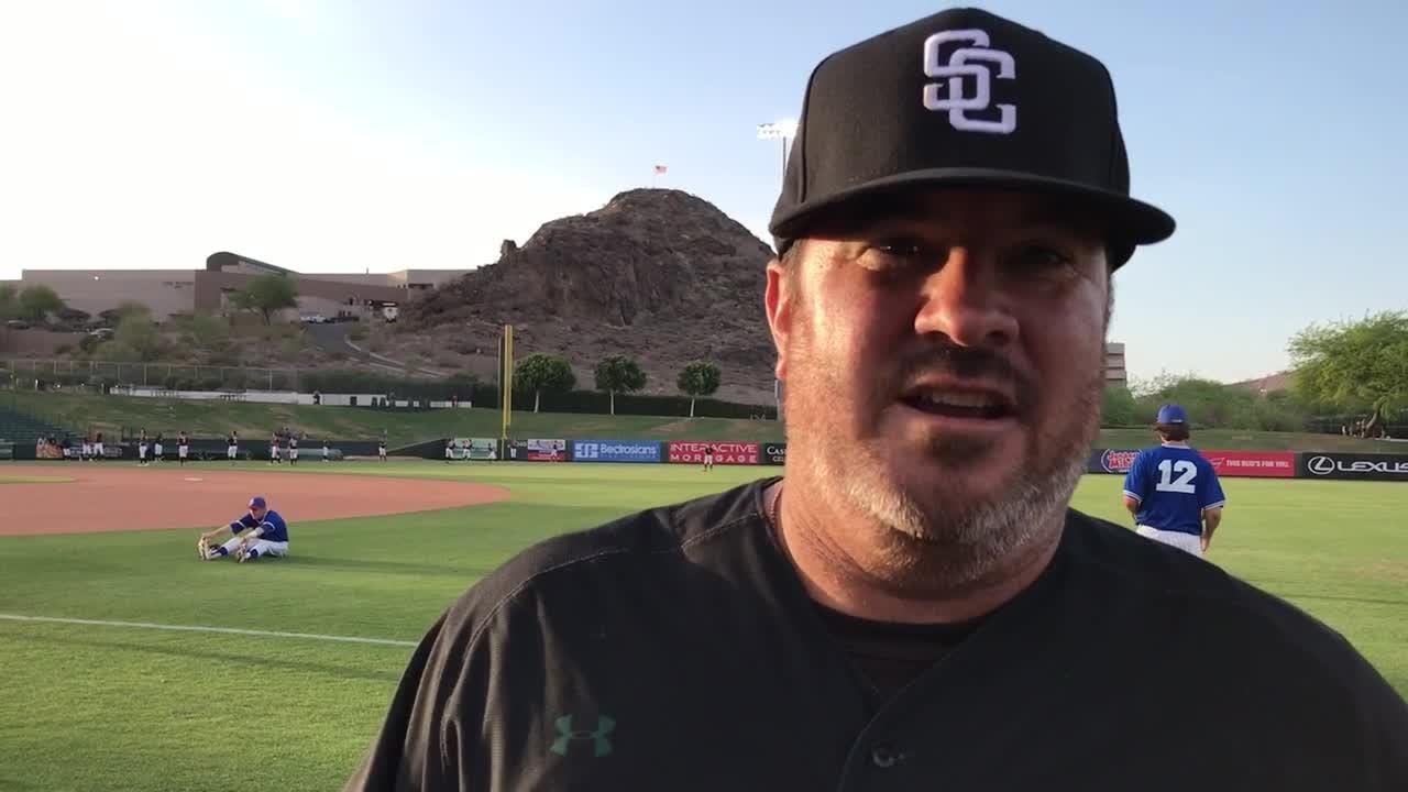 Pat Herrera talks postgame about their seventh inning comeback win on Friday night.