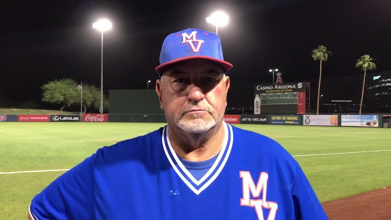 Mike Thiel talks postgame after Friday night's win.