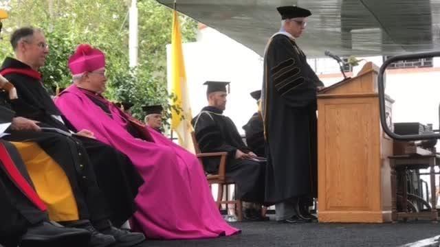 The Thomas Aquinas College Graduation.