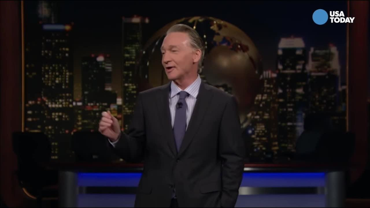Bill Maher reveals the slogan for Michael Cohen's consulting company. After you watch our favorite jokes, vote for yours at usatoday.com/opinion.
