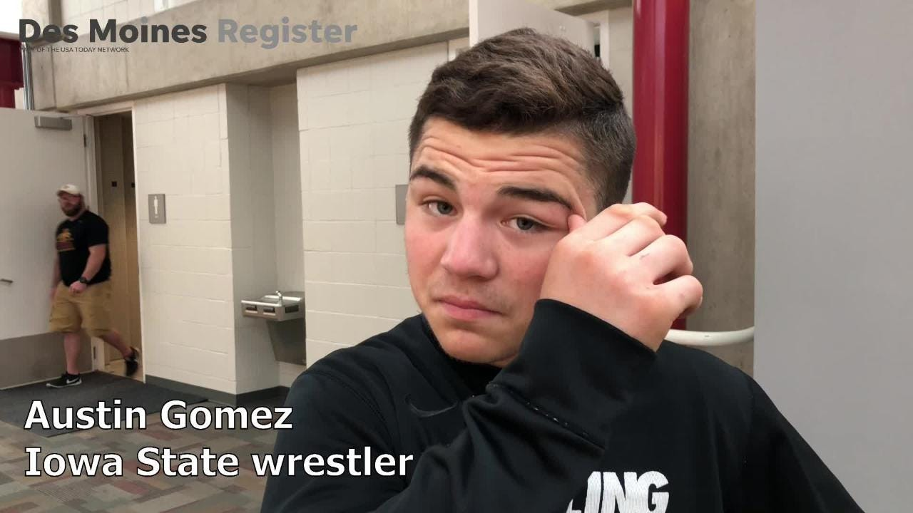 Austin Gomez came up just short of making the Junior world team last year. Now, Iowa State's heralded lightweight believes the spot is his this year.