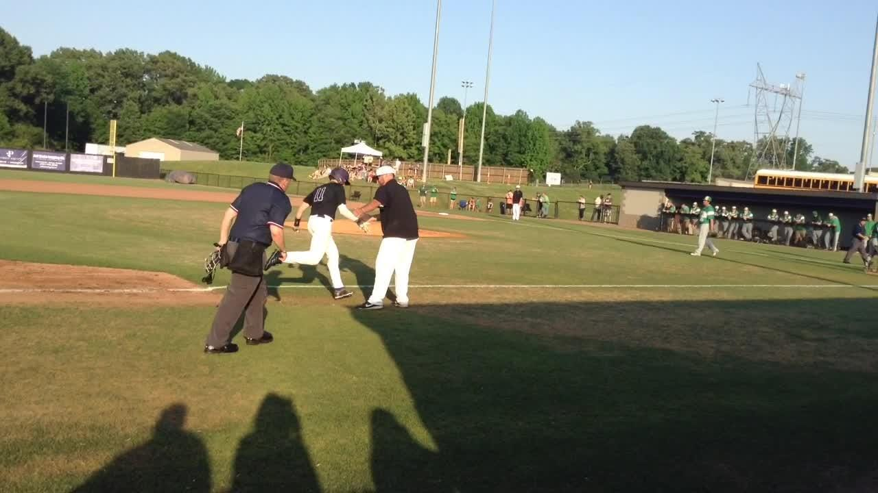 TCA baseball beat Lake County 12-2 in the Region 7-A semifinals on Monday.