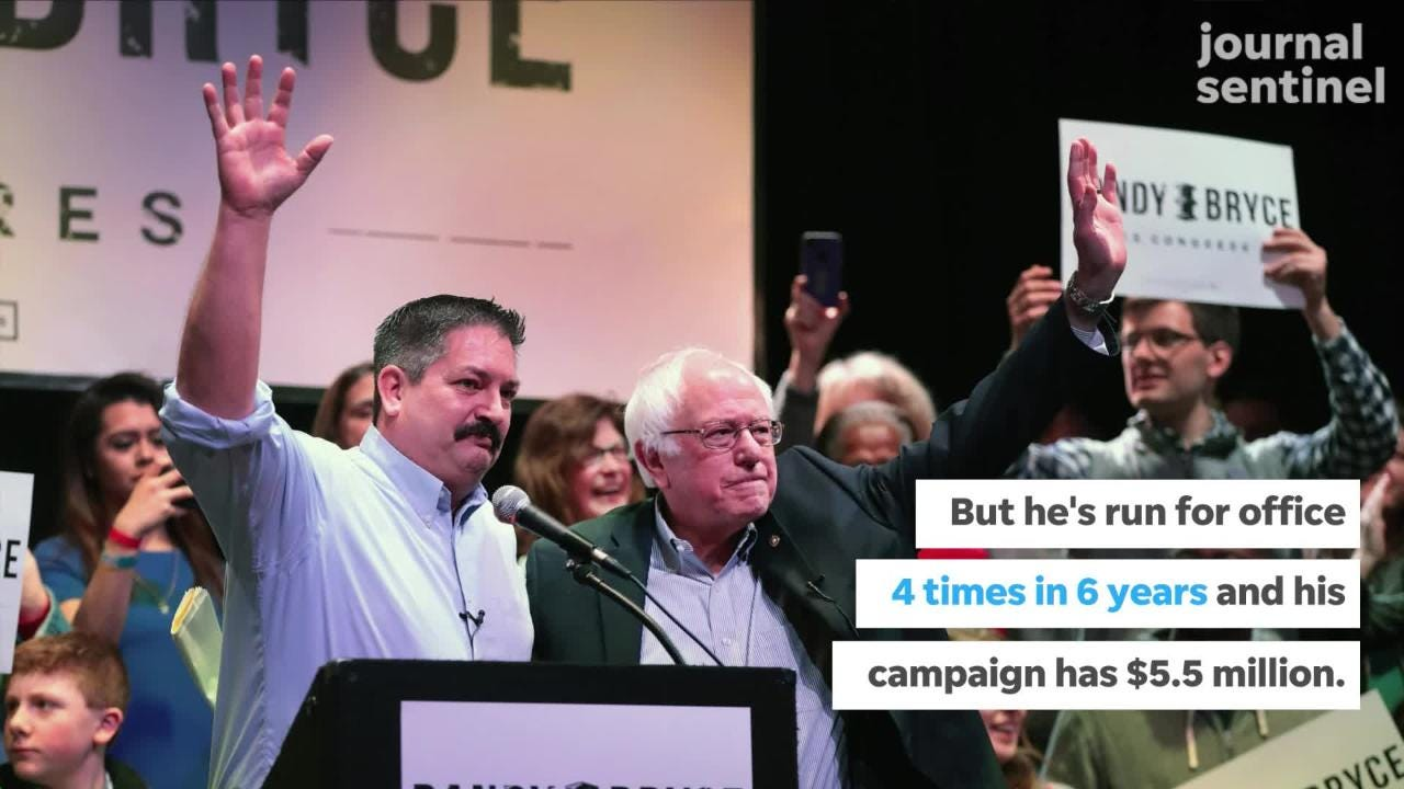 PolitiFact: Is 'IronStache' Randy Bryce, Who is Running for Paul Ryan's Seat, a Politician?