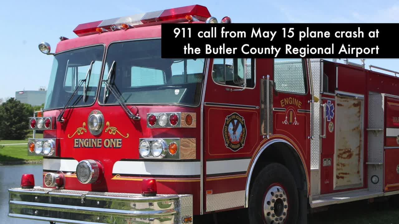 A pilot was hospitalized after a crash at the Butler County Regional Airport on May 15, 2018.