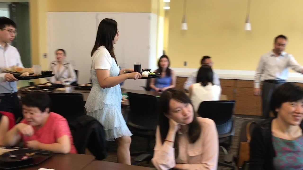 Michigan State University graduates from China, Haoyun Liung and Lulu Chen, talk about their time living in East Lansing for college.