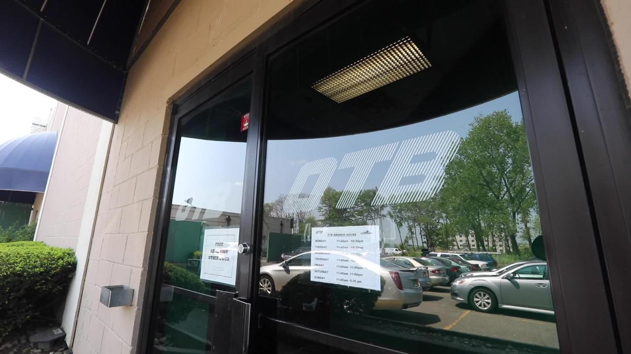 Catskill OTB President Don Groth talks about the prospect of sports betting being allowed in New York at the Nanuet OTB  May 15, 2018.