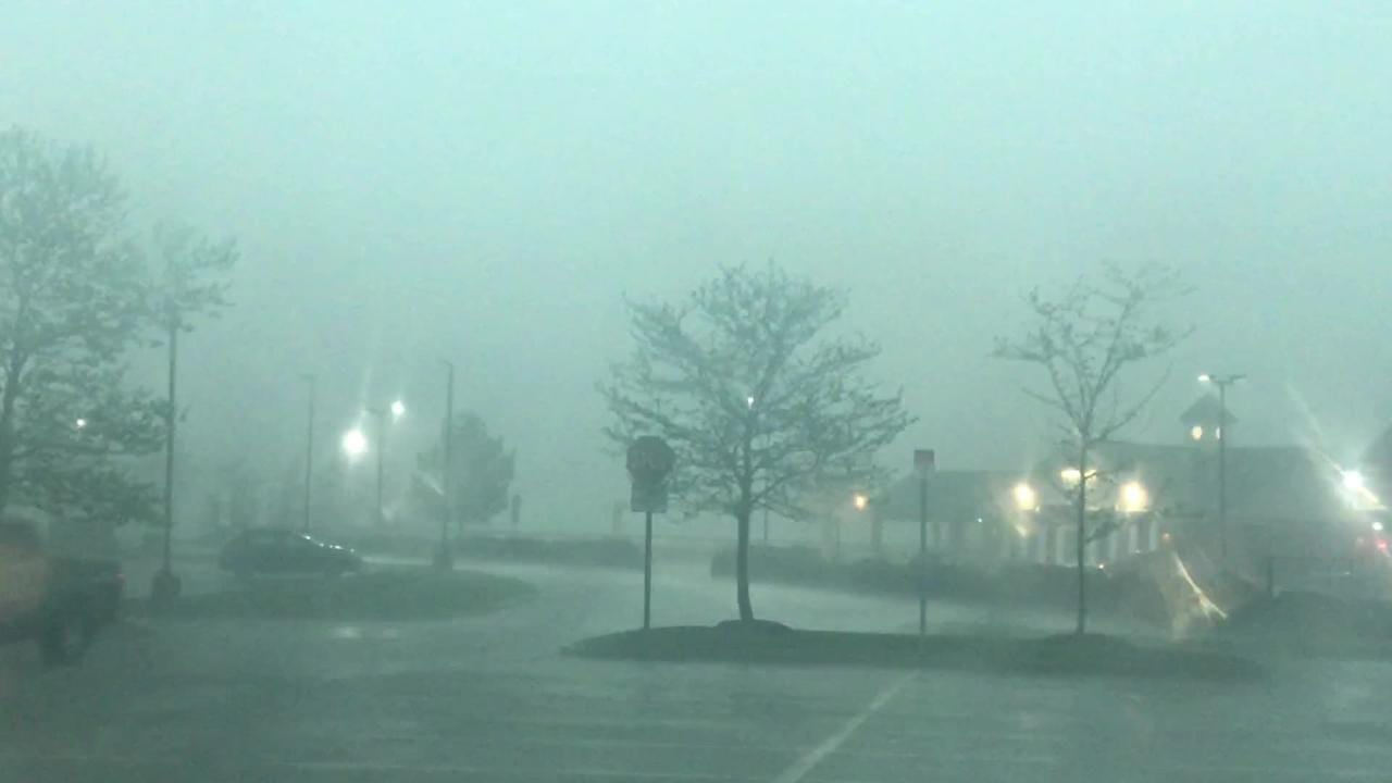 Raw footage of the severe weather in Brewster Tuesday at 4:30 p.m.