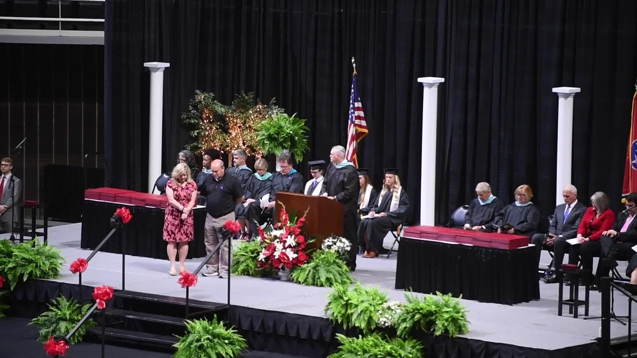 Central High School honors Emma Walker at graduation