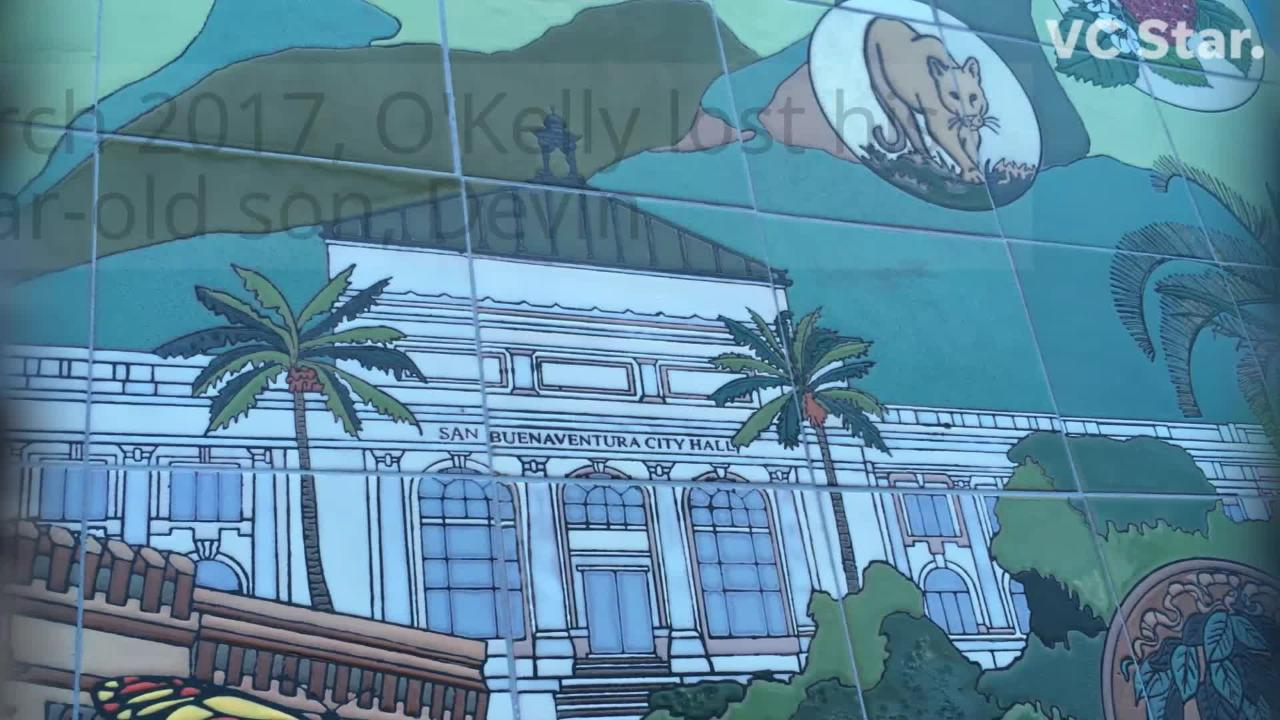 New Ventura mural honors 150 years of city history.