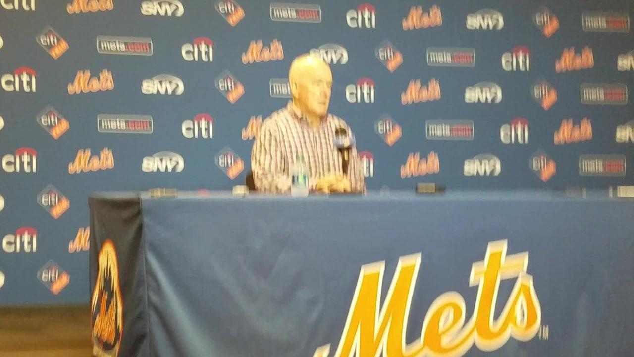 NY Mets GM Sandy Alderson on Yoenis Cespedes' injury