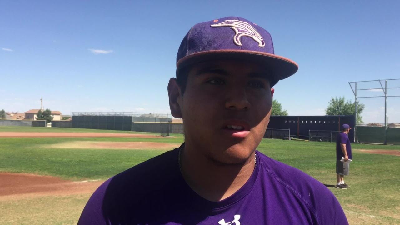 Eastlake baseball player Bernie Valdez talks about this year's success in the playoffs.