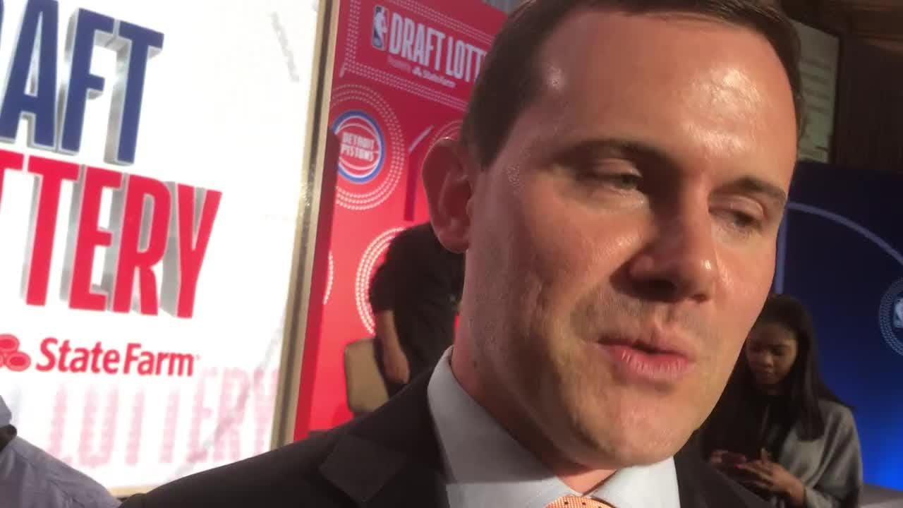After winning the No. 1 pick in the NBA draft in Tuesday's lottery, Suns GM Ryan McDonough isn't revealing whom the Suns will be drafting.