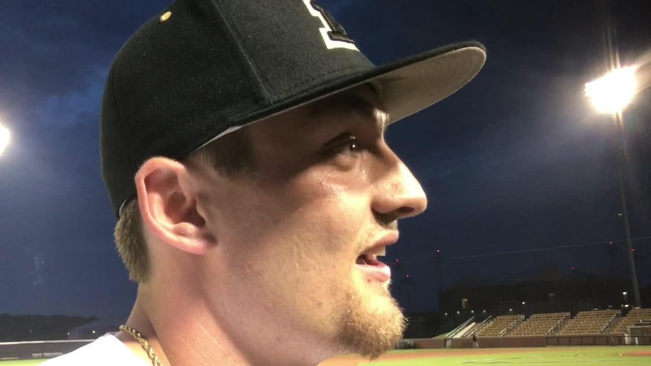 Purdue's Evan Kennedy on decisive home run