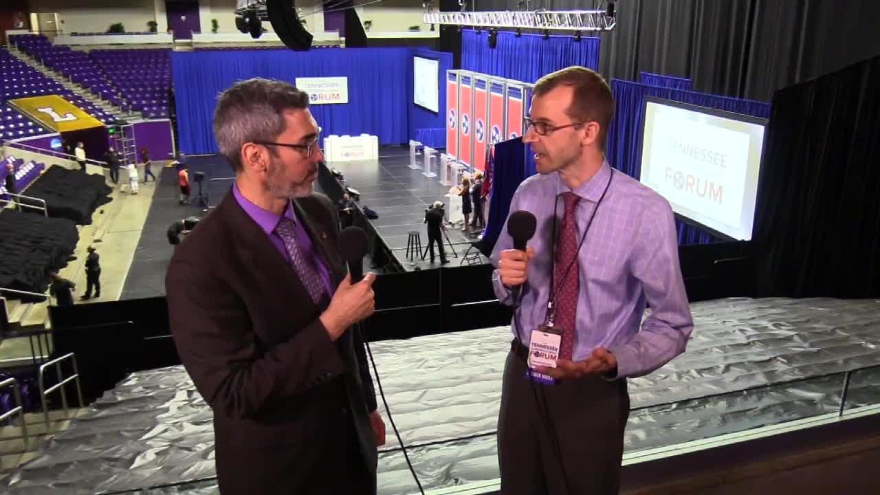 Duane Gang and David Plazas from the USA TODAY NETWORK - Tennessee talk about the Tennessee gubernatorial forum