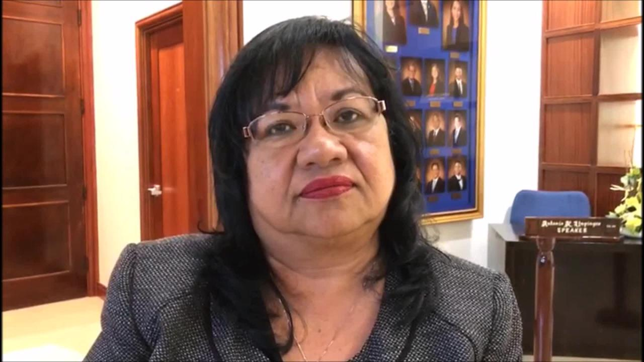 Department of Revenue and Taxation Director Marie M. Benito on Wednesday says nearly $300,000 has been collected as a result of the tax amnesty program but this does not necessarily represent 10 percent down payment for some $3 million in outstanding taxes because some could be outstanding taxes.