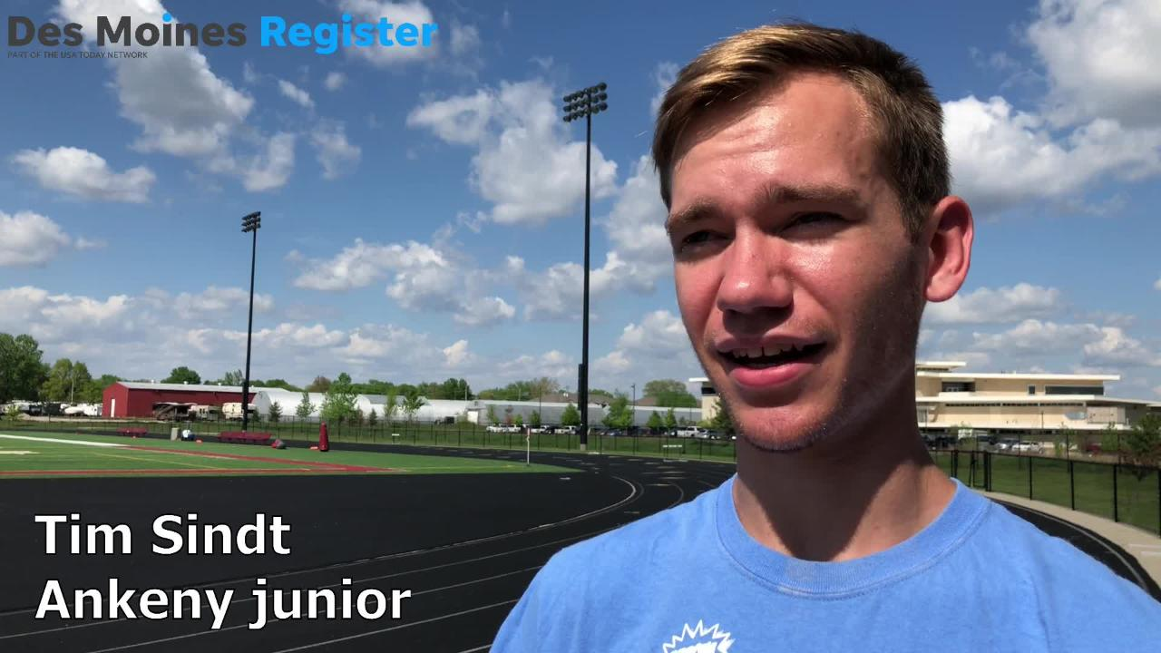 A scary heart diagnosis put Tim Sindt's running plans on hold. Now, the Ankeny junior is ready to show out at the 2018 state track meet.