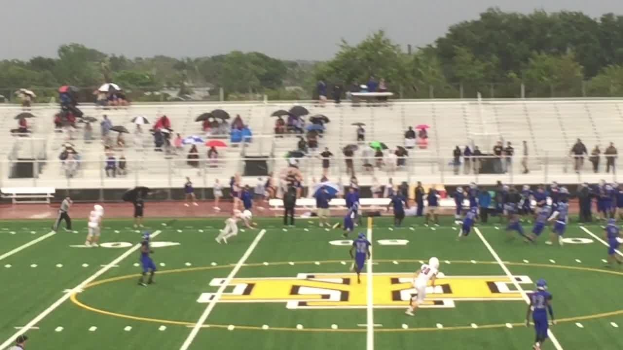 Highlights of the Merritt Island football jamboree with Heritage and Satellite. Posted May 16, 2018.