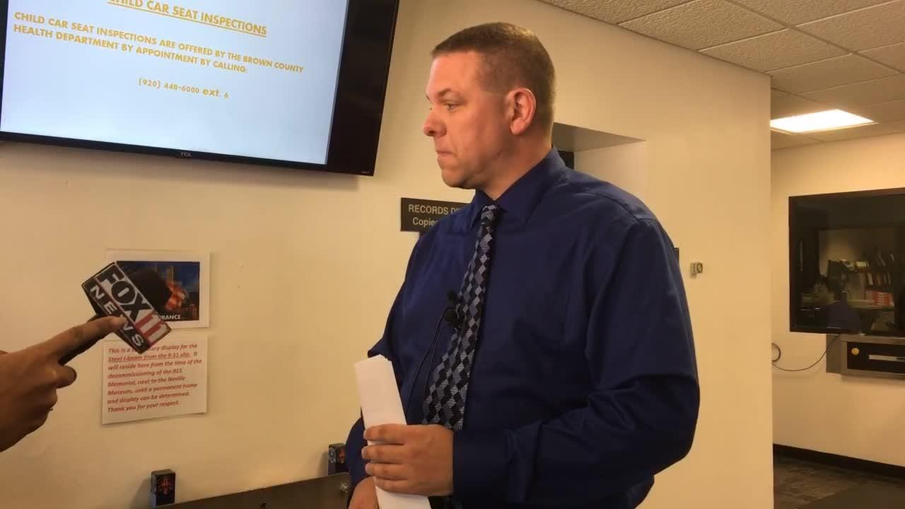 Police Lt. Jeff Brester talks the recent arrest of Green Bay West band teacher David Viste. Viste is facing child enticement and stalking charges.