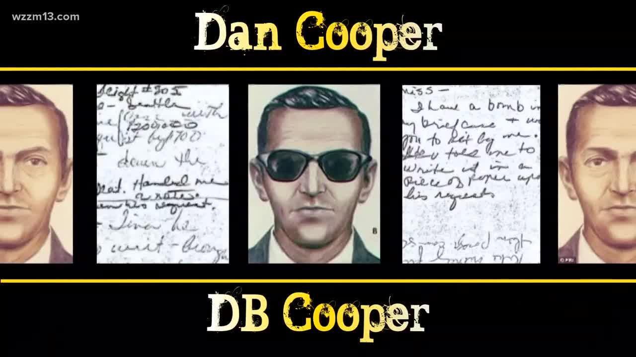 Grand Rapids-based Principia Media says Cooper was a former military paratrooper named Walter R. Reca