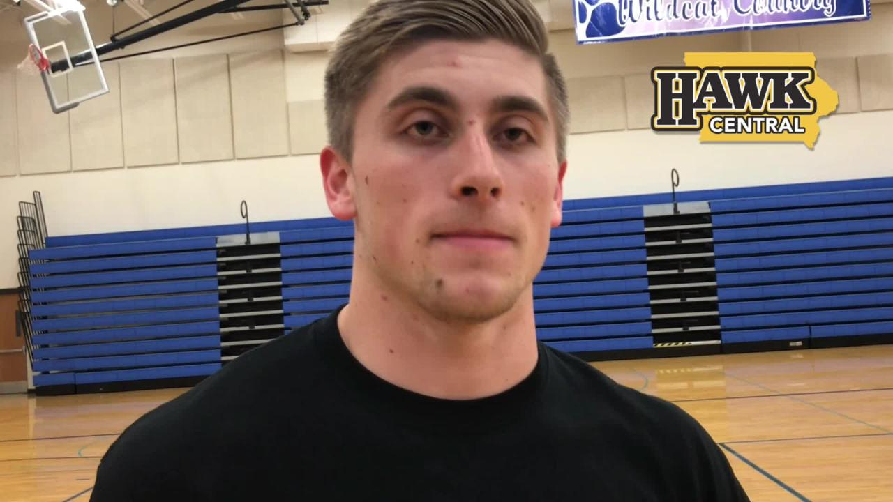 Jaden Snyder is excited to join older brother Brandon as Iowa Hawkeye football players. He explains why.
