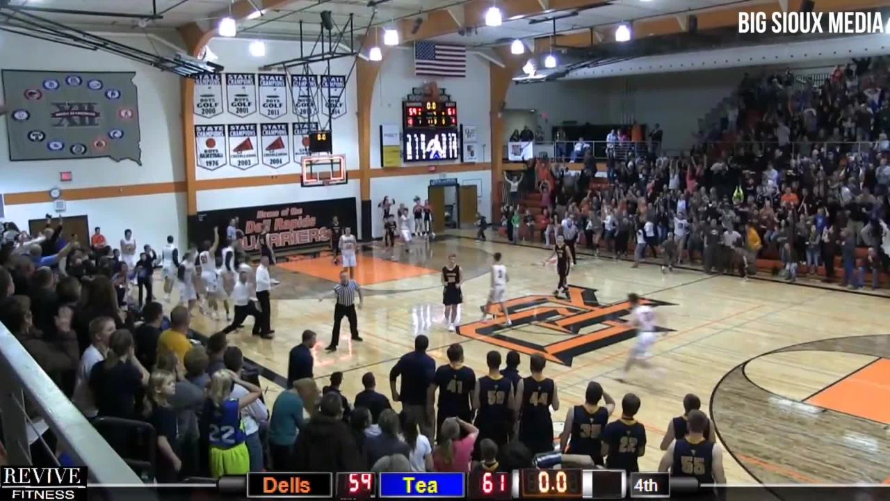 Down two points with 1.3 seconds left in the first overtime, Dell Rapids kept hope alive.