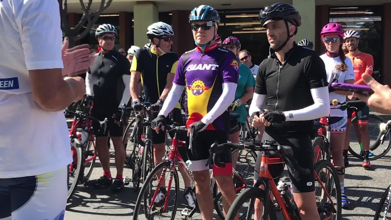 The Ventura County Fire Department and Ventura County Transportation Commission hosted a 14-mile bike ride to celebrate Bike to Work Week.