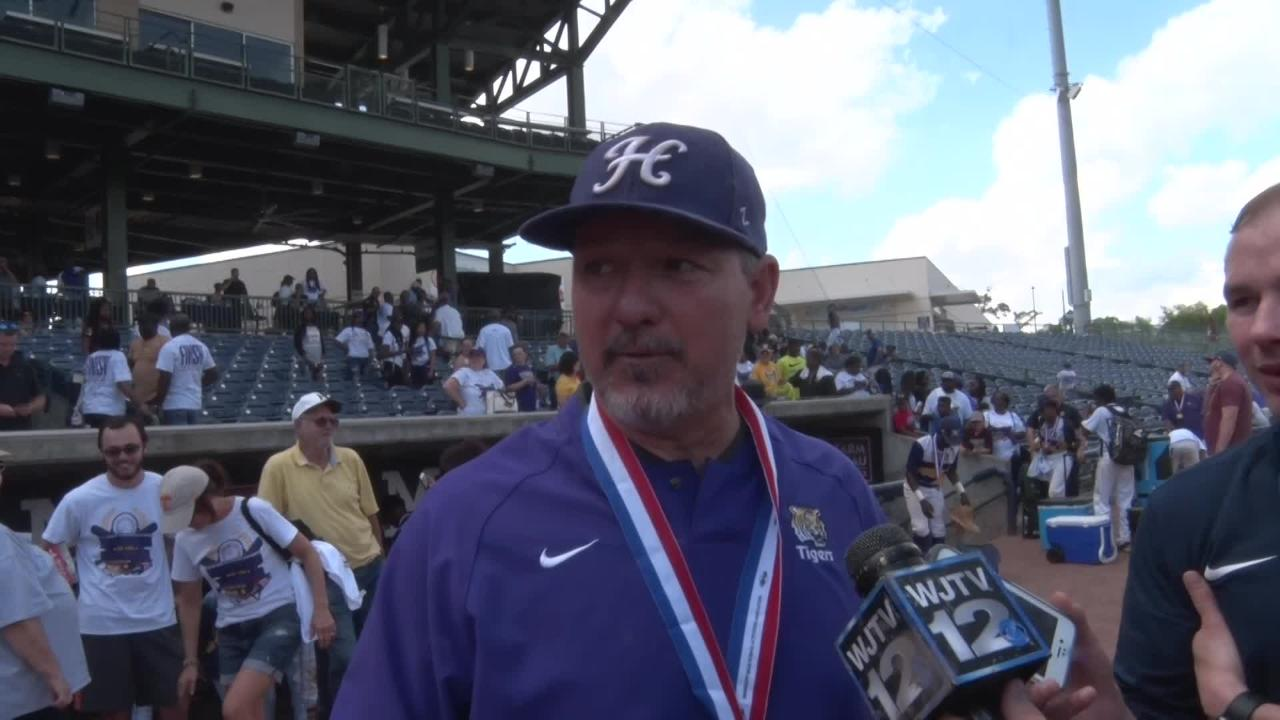 Hattiesburg defeated Lewisburg 11-1 in Game 2 of the 5A state championship game.