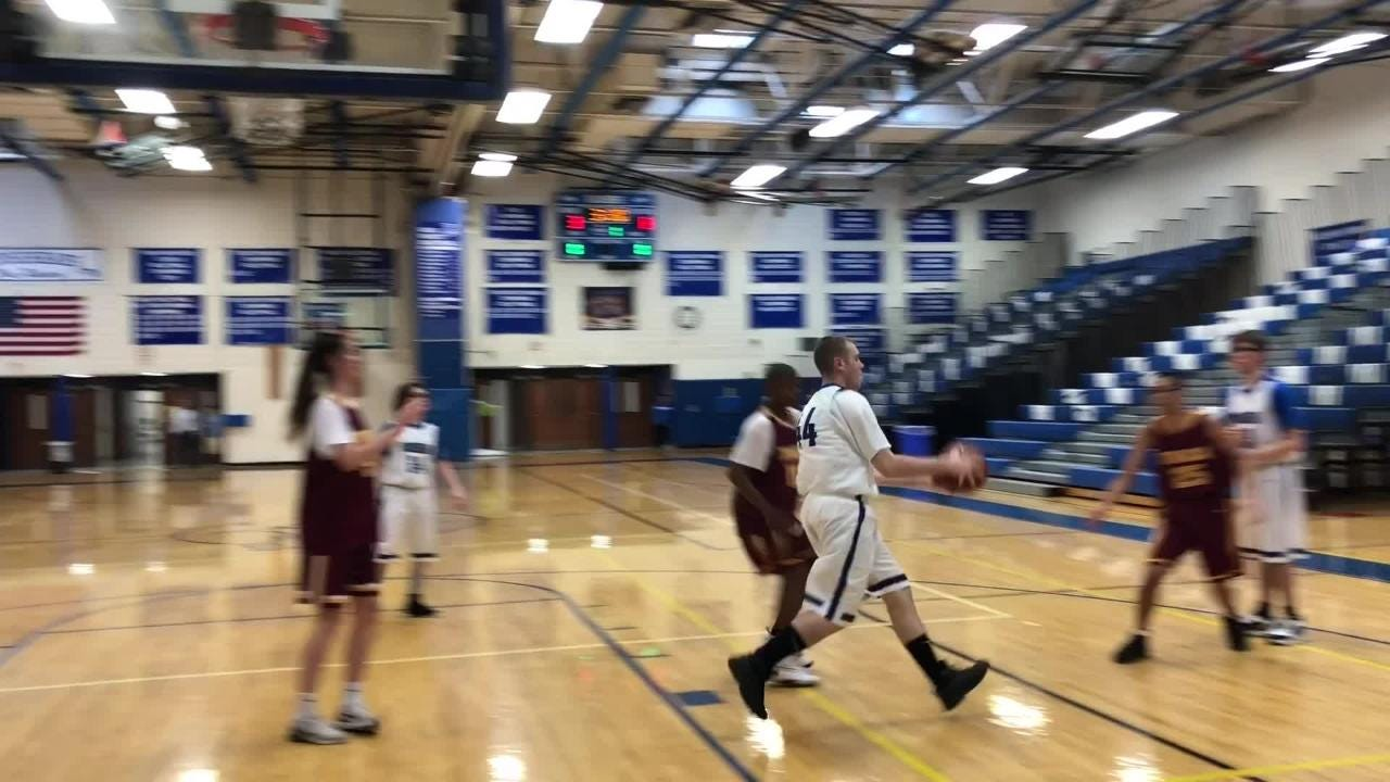 Video: Elmira hosts Johnson City in Unified Sports basketball