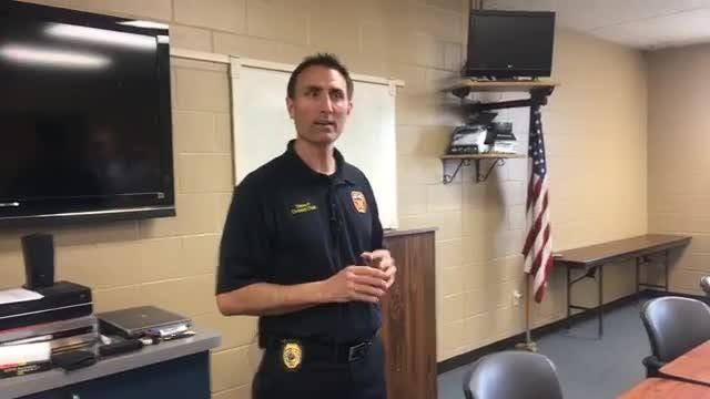 An update on the A-OX Welding Supply Company fire for Sioux Falls Fire Rescue Division Chief Steve Fessler.