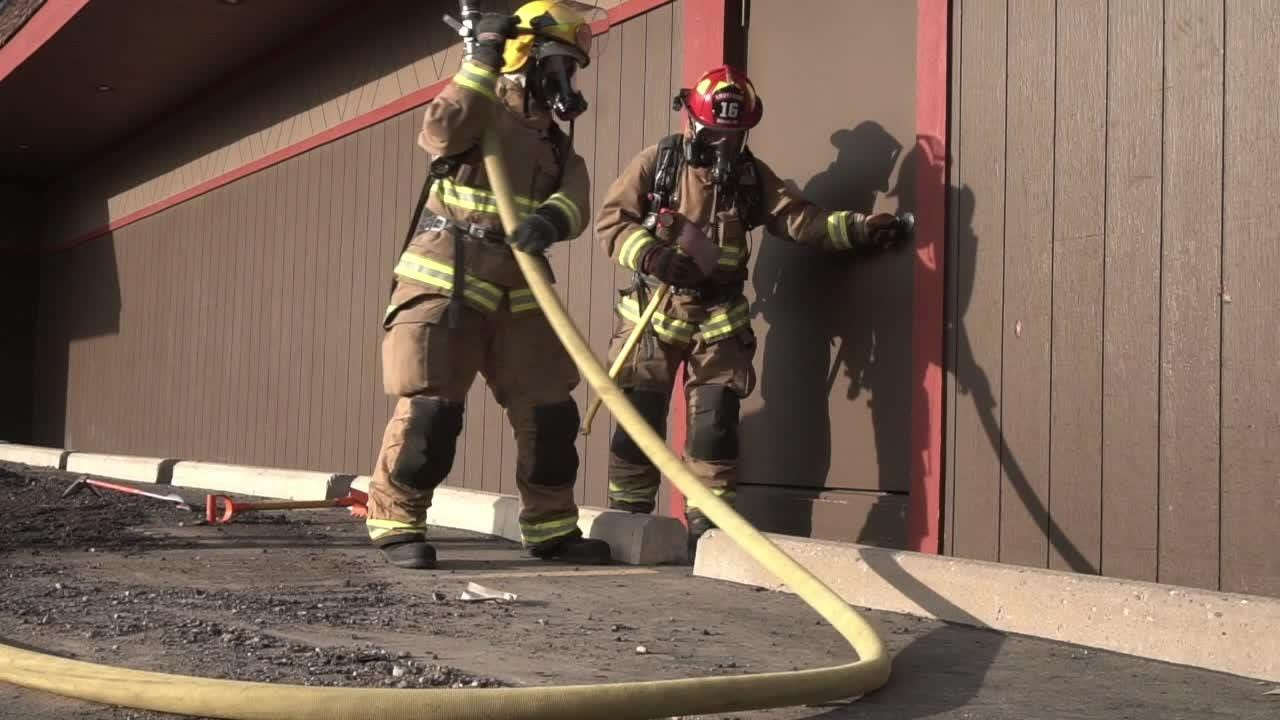 Search and Rescue: Training for Highland Twp firefighters.
